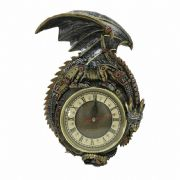 Clockwork Steampunk Dragon Wall Clock Vintage Art Gothic Gift